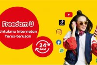 Pembagian Kuota Indosat 7GB Unlimited