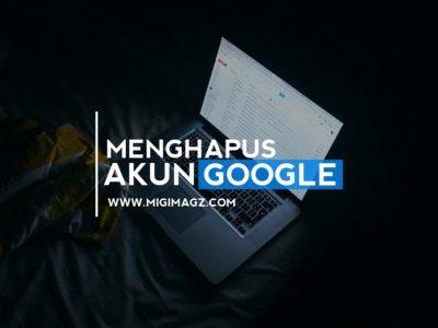 cara hapus akun google hp xiaomi