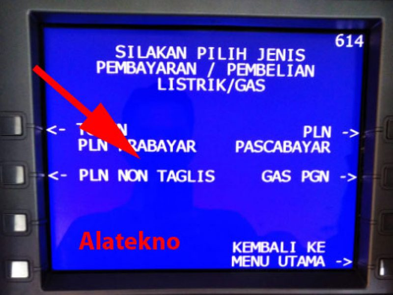 Pembayaran PLN Non Tagihan Listrik Atm BRI