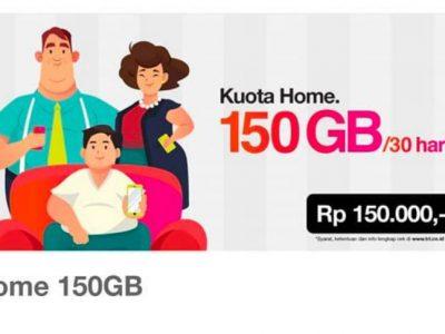 paket Tri home 150gb