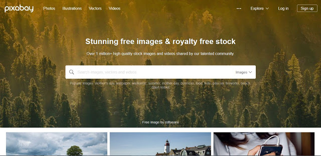 Pixabay web gambar bebas hak cipta