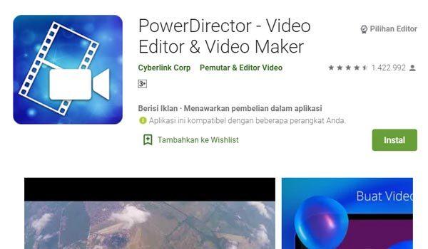 powerdirector edit video
